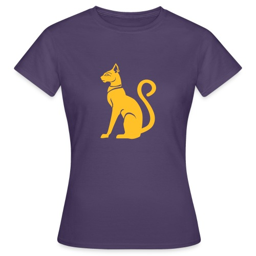 Bastet - Katzengöttin im alten Ägypten - Frauen T-Shirt