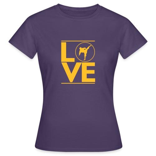 Love karate - T-shirt Femme
