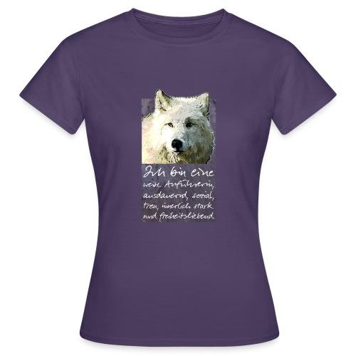 Ich bin eine - weise Anführerin - Frauen T-Shirt