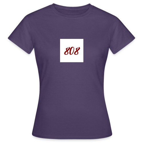 808 red on white box logo - Women's T-Shirt
