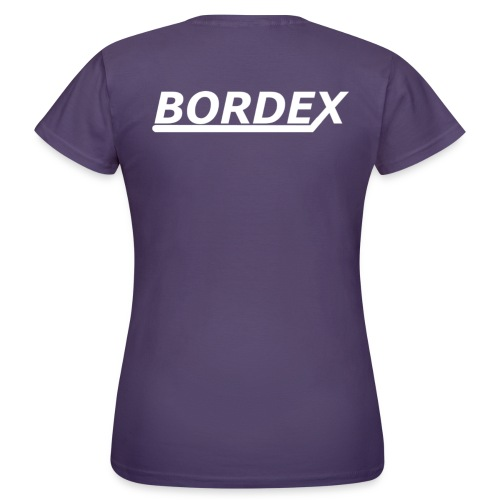Bordex logo achterkant - Vrouwen T-shirt