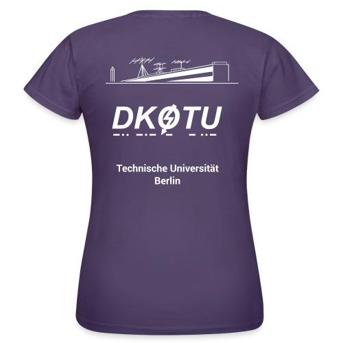 DK0TU Template Test 1 - Frauen T-Shirt