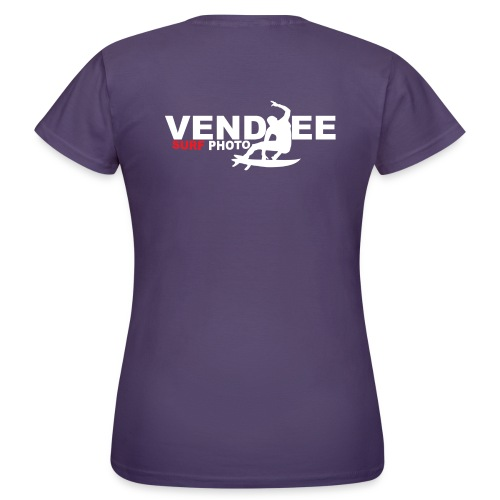 VS Logo Surfer blanc - T-shirt Femme