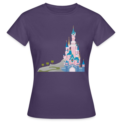 Themepark Castle - Women's T-Shirt