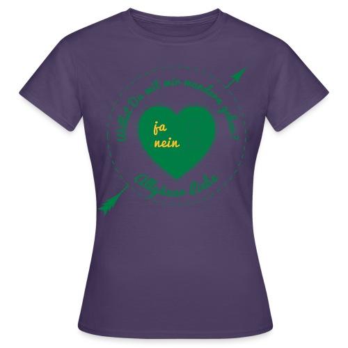 wandern-final-001 - Frauen T-Shirt