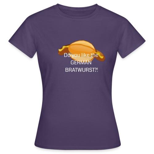 Bratwurst - Frauen T-Shirt