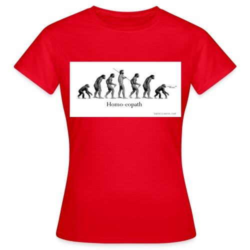 homoeopath classic textilesmousemat 120d - Women's T-Shirt