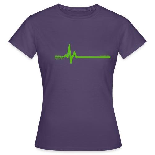 Querbeet EKG - Frauen T-Shirt