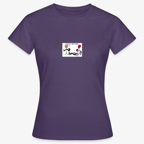 Let`s get ready to rumble! logo - T-skjorte for kvinner