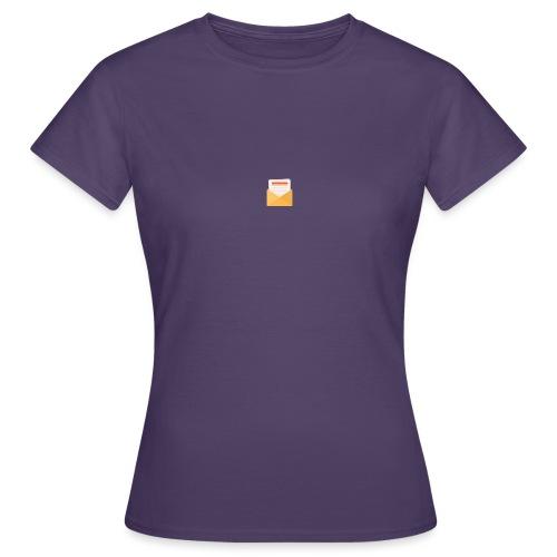 brev t-shirt - T-shirt dam