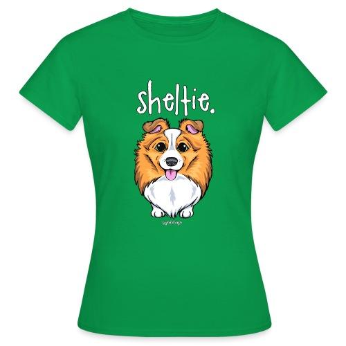 Sheltie Dog Cute 5 - Women's T-Shirt