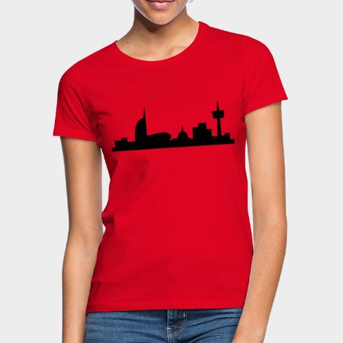 Bremerhaven Skyline V2016 Full - Frauen T-Shirt