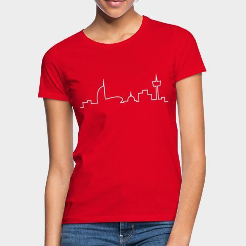 Bremerhaven Skyline V2016 - Frauen T-Shirt