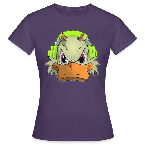 Duckie head - T-shirt dam