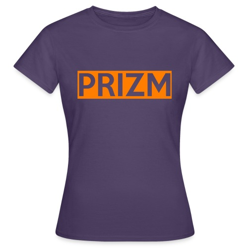 Prizm Logo (Orange) - Women's T-Shirt