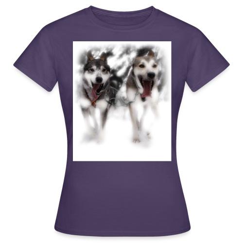 Lead-Dogs White - Frauen T-Shirt