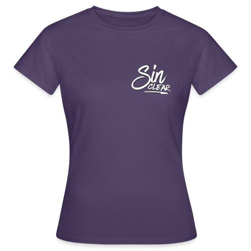 Sinclear Logo Weiß 🏳 - Frauen T-Shirt