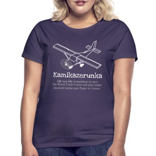 Kamikazerunka - T-shirt dam