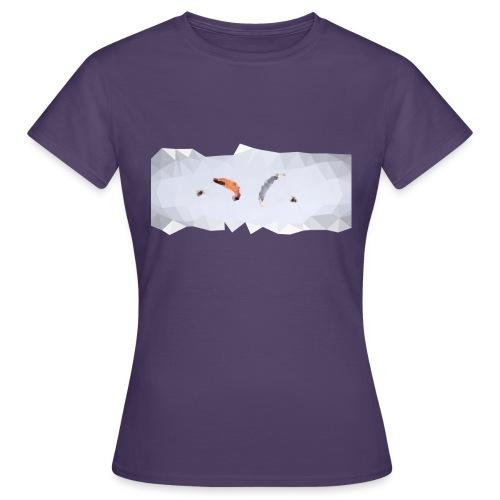 Synchro Polygone v2 - T-shirt Femme