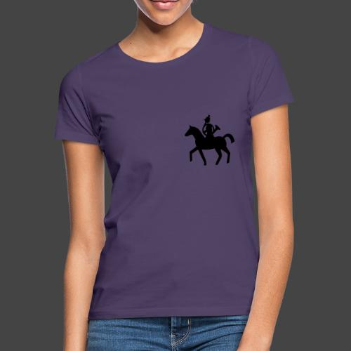 Parforcehornbläserin zu Pferd-Shirt für Jägerinnen - Frauen T-Shirt