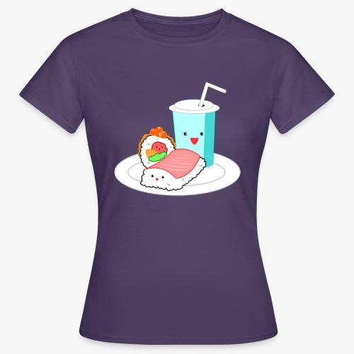 Happy Sushi - Vrouwen T-shirt