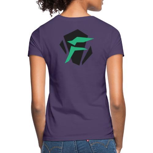 Logo, tosidet - T-skjorte for kvinner