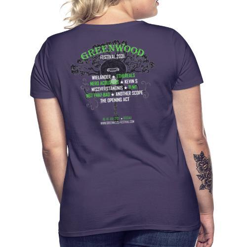 Greenwood Bands 2021 - Frauen T-Shirt