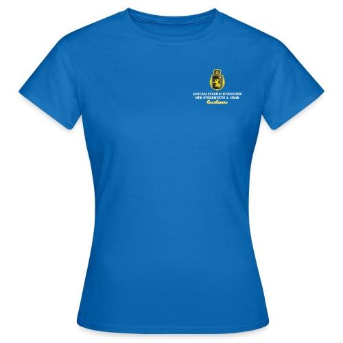 GagaGarden Generalfeldwachtmeister med sverdknute - T-skjorte for kvinner