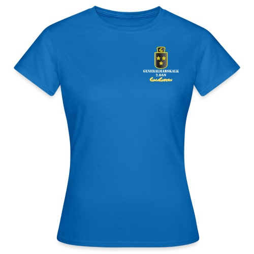 GagaGarden generalmarskalk 2.dan - T-skjorte for kvinner