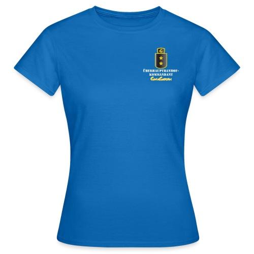 GagaGarden überhaubtbanhofkommandant - T-skjorte for kvinner
