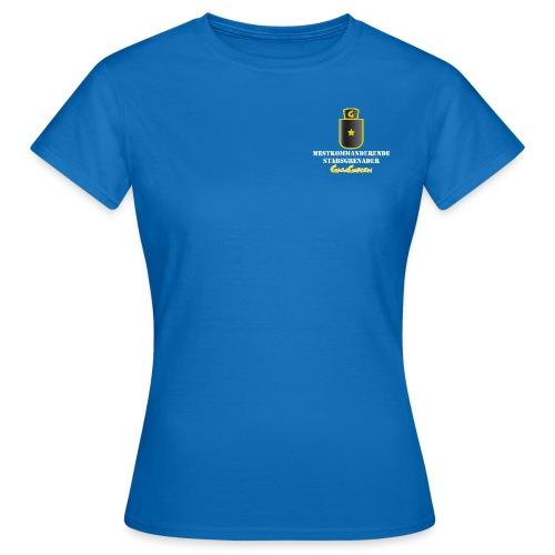 GagaGarden mestkommanderende stabsgrenader - T-skjorte for kvinner