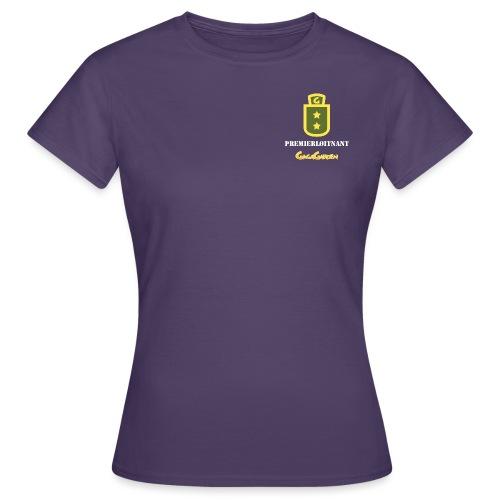 GagaGarden premierløitnant - T-skjorte for kvinner