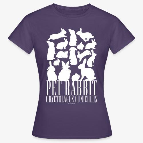 Pet Rabbit - Naisten t-paita