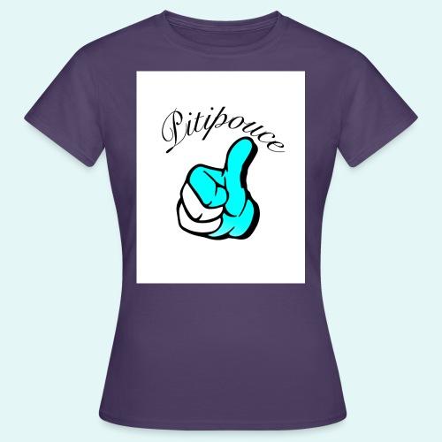 Pouce bleu Pitipouce - T-shirt Femme