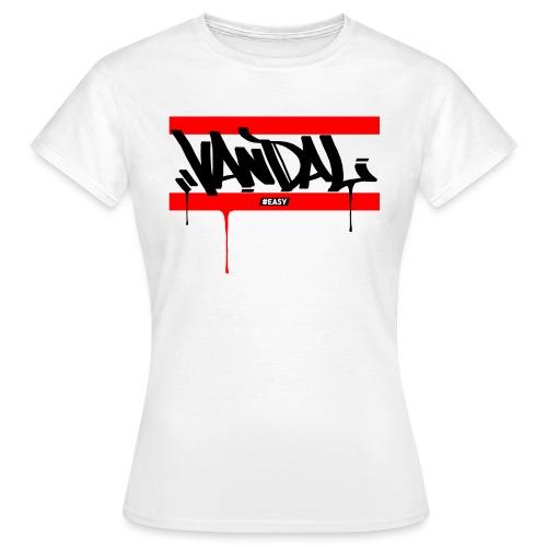 #EASY Graffiti Vandal T-Shirt - Maglietta da donna