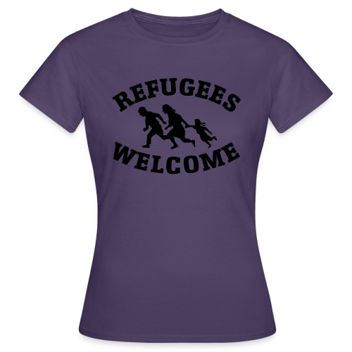 Refugees Welcome - T-shirt Femme