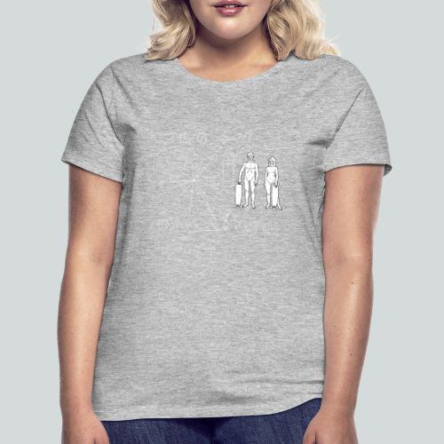 Skateboarder Pioneer plaque - T-shirt Femme