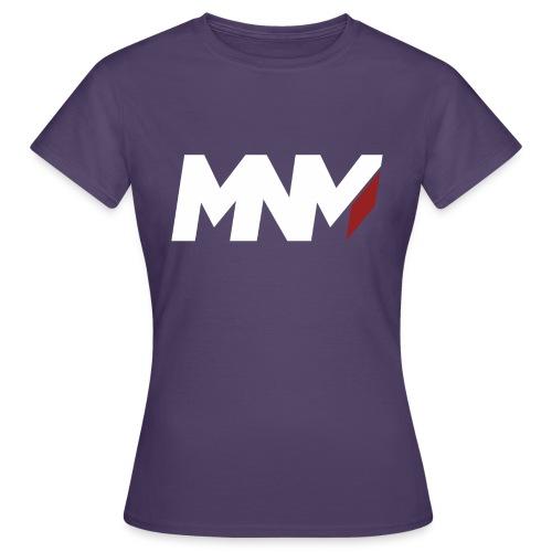 MNM With RED WHITE Corner - Women's T-Shirt