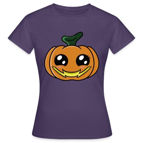 Citrouille d'Halloween Kawaii ! - T-shirt Femme