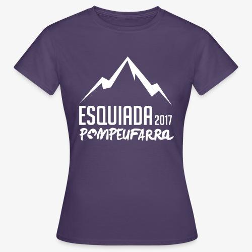 Esquiada Pompeufarra 2017 white - Camiseta mujer