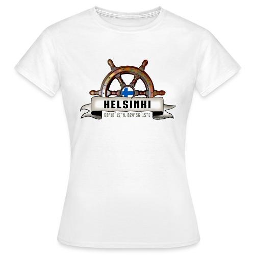 Helsinki Ruori - Merelliset tekstiilit ja lahjat - Naisten t-paita