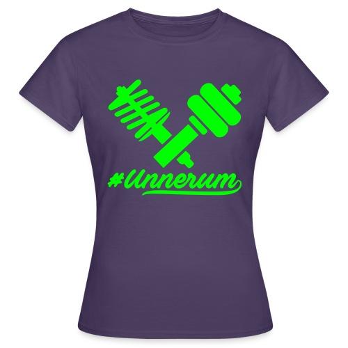 Logo #Unnerum - Frauen T-Shirt