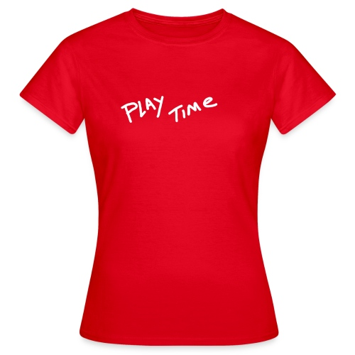 Play Time Tshirt - Women's T-Shirt