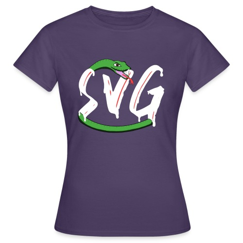 Savage Snake White - Vrouwen T-shirt