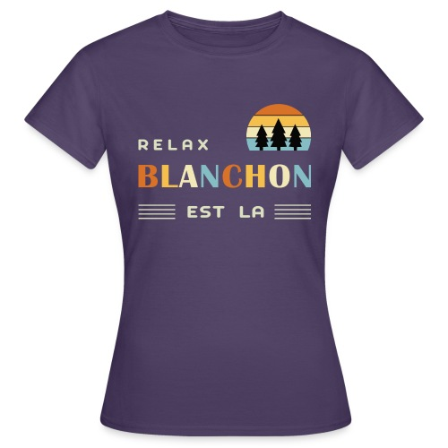 blanchon tshirt - T-shirt Femme