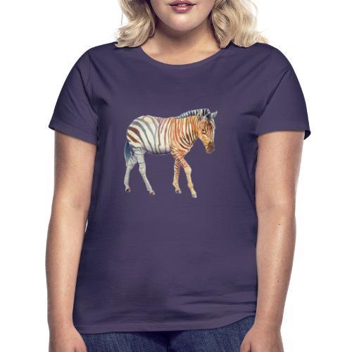 Zebra grants - Dame-T-shirt