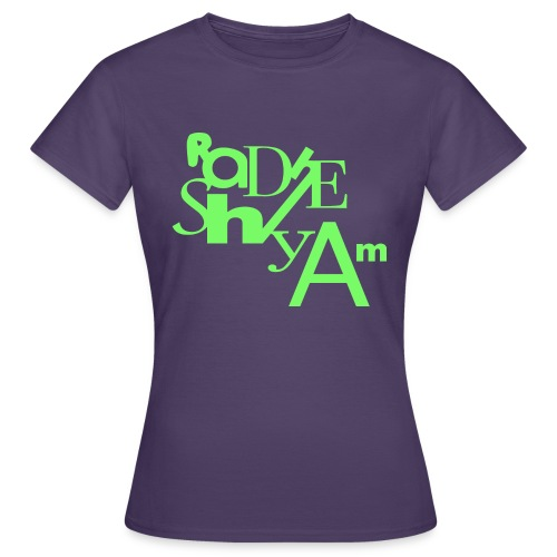 Blu Lines - Women's T-Shirt