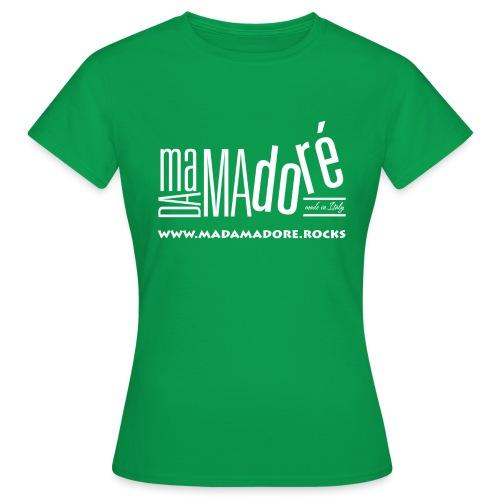 T-Shirt - Uomo - Logo Bianco + Sito - Maglietta da donna