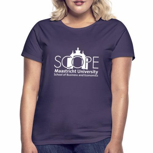 SCOPE Logo White - Women's T-Shirt