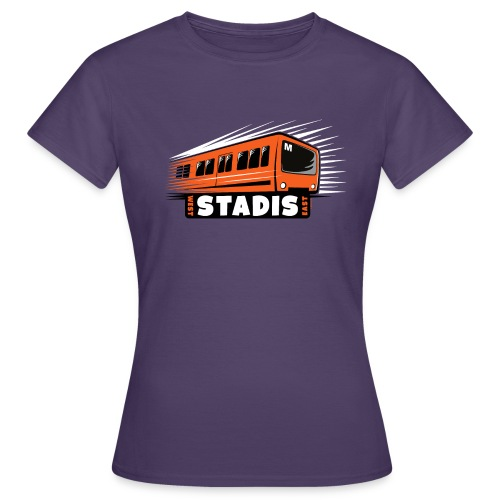 STADISsa METRO T-Shirts, Hoodies, Clothes, Gifts - Naisten t-paita